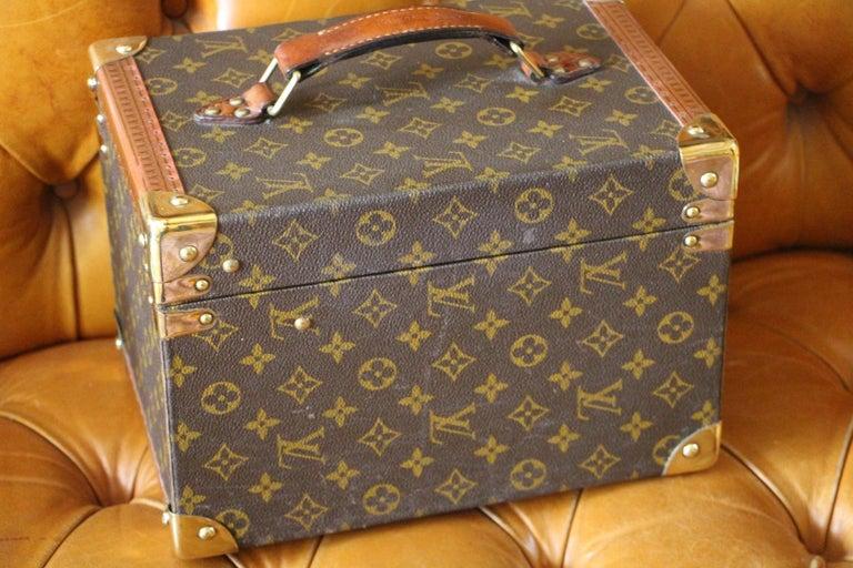 Louis Vuitton Train Case, Louis Vuitton Beauty Case, Louis Vuitton Jewelry Case For Sale 6