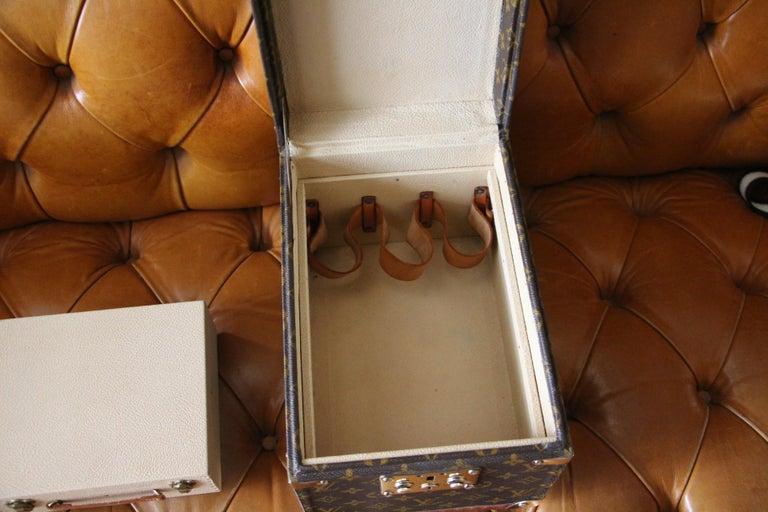 Louis Vuitton Train Case, Louis Vuitton Beauty Case, Louis Vuitton Jewelry Case For Sale 9