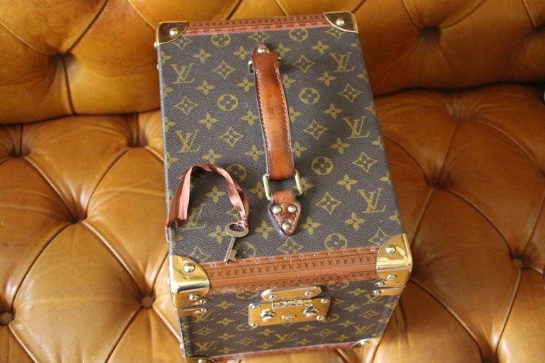 Louis Vuitton Train Case, Louis Vuitton Beauty Case, Louis Vuitton Jewelry Case For Sale 13