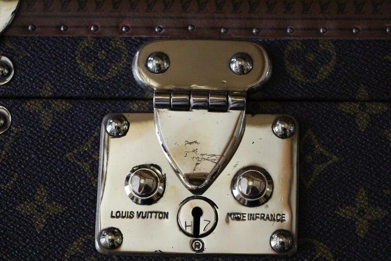 Louis Vuitton Train Case, Louis Vuitton Beauty Case, Louis Vuitton Jewelry Case In Excellent Condition For Sale In Saint-ouen, FR