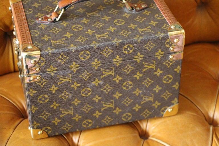 Louis Vuitton Train Case, Louis Vuitton Beauty Case, Louis Vuitton Jewelry Case For Sale 4