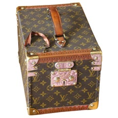 Louis Vuitton Train Case, Louis Vuitton Beauty Case, Louis Vuitton Jewelry Case