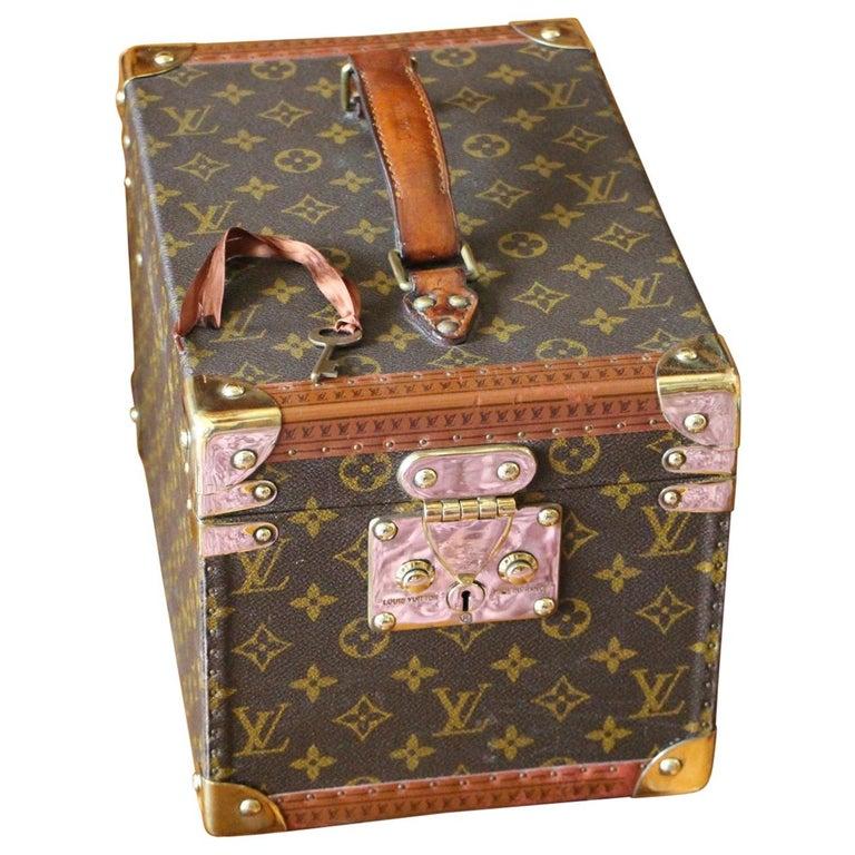 Louis Vuitton Train Case, Louis Vuitton Beauty Case, Louis Vuitton Jewelry Case For Sale