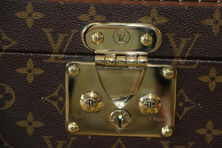 Brown Louis Vuitton Train Case, Louis Vuitton Boite Pharmacie, Louis Vuitton Case For Sale