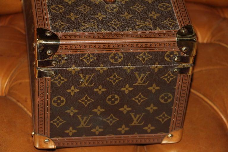 Louis Vuitton Train Case, Louis Vuitton Jewelry Case, Louis Vuitton Beauty Case For Sale 6