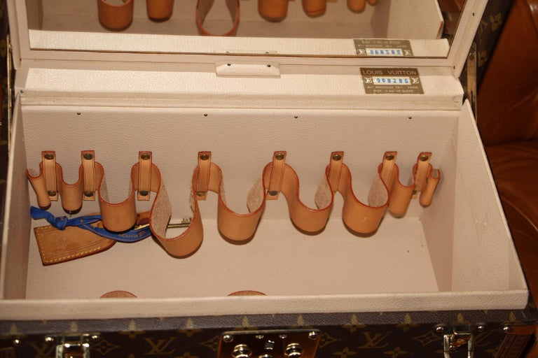 Louis Vuitton Train Case, Louis Vuitton Jewelry Case, Louis Vuitton Beauty Case For Sale 8