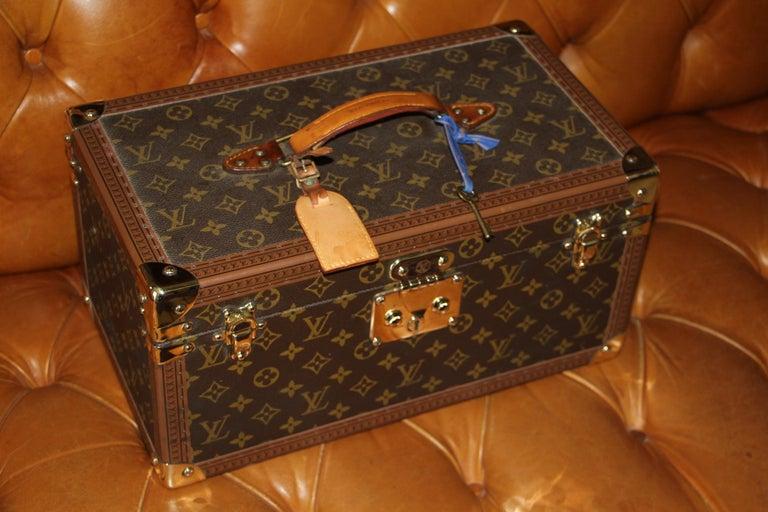Louis Vuitton Train Case, Louis Vuitton Jewelry Case, Louis Vuitton Beauty Case For Sale 11