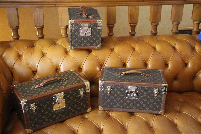 Louis Vuitton Train Case, Louis Vuitton Jewelry Case, Louis Vuitton Beauty Case For Sale 12