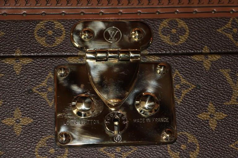 Women's or Men's Louis Vuitton Train Case, Louis Vuitton Jewelry Case, Louis Vuitton Beauty Case For Sale