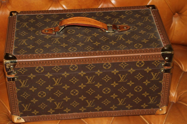 Louis Vuitton Train Case, Louis Vuitton Jewelry Case, Louis Vuitton Beauty Case For Sale 5