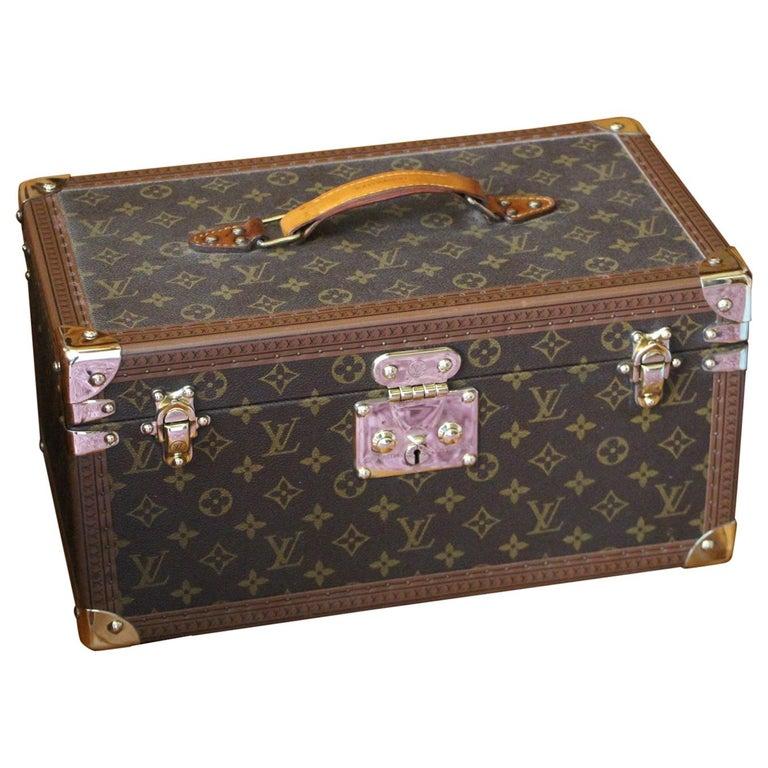 Louis Vuitton Train Case, Louis Vuitton Jewelry Case, Louis Vuitton Beauty Case For Sale