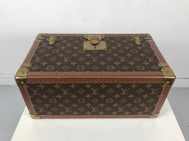 Louis Vuitton Train Case, Vuitton Boite Pharmacie, Cosmetic Case 1010670, Paris For Sale 7