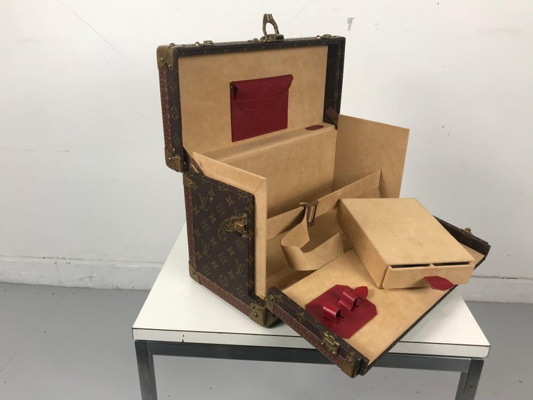 Louis Vuitton Train Case, Vuitton Boite Pharmacie, Cosmetic Case 1010670, Paris For Sale 2
