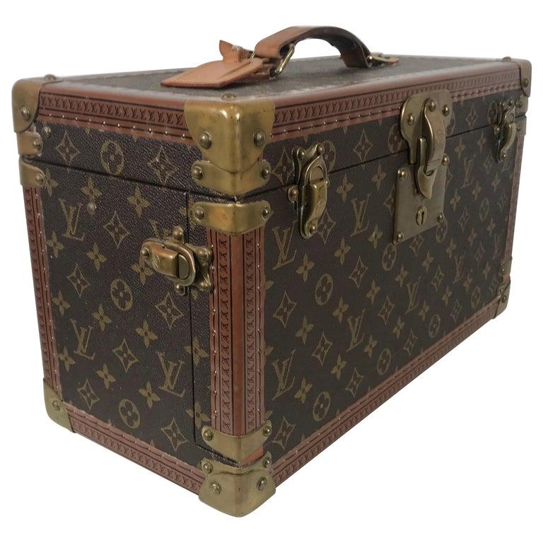 Louis Vuitton Train Case, Vuitton Boite Pharmacie, Cosmetic Case 1010670, Paris For Sale