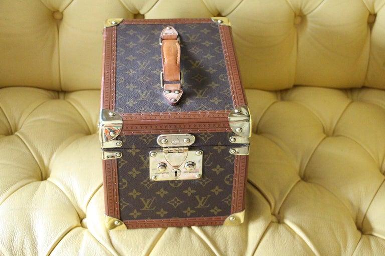 French Louis Vuitton Train Case, Louis Vuitton Beauty Case