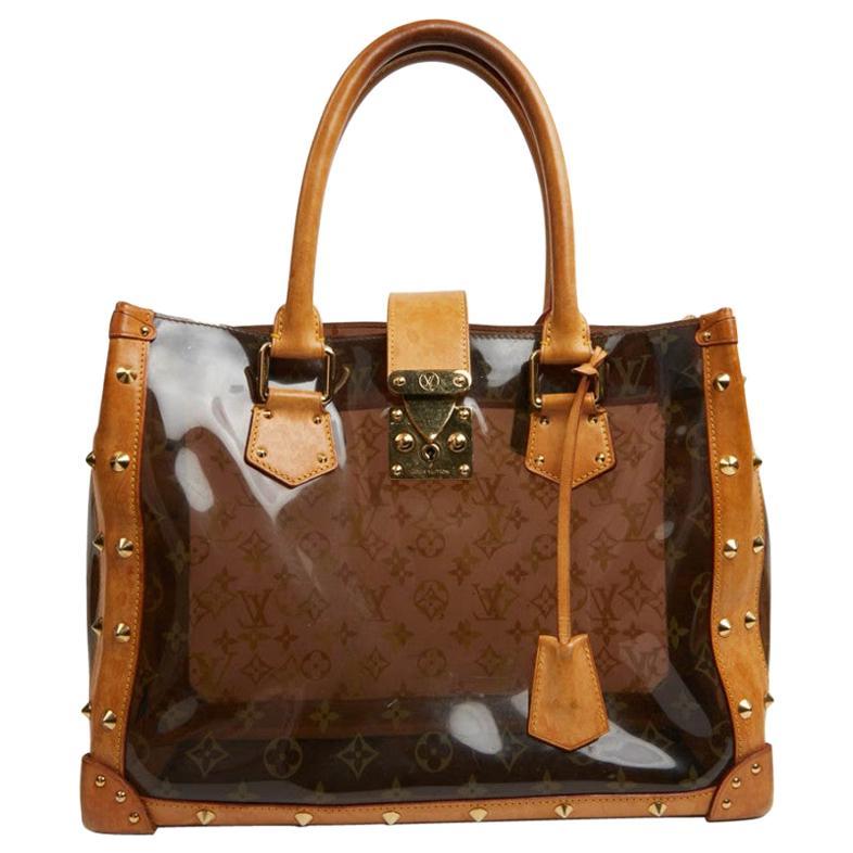 LOUIS VUITTON Transparent Amber Bag