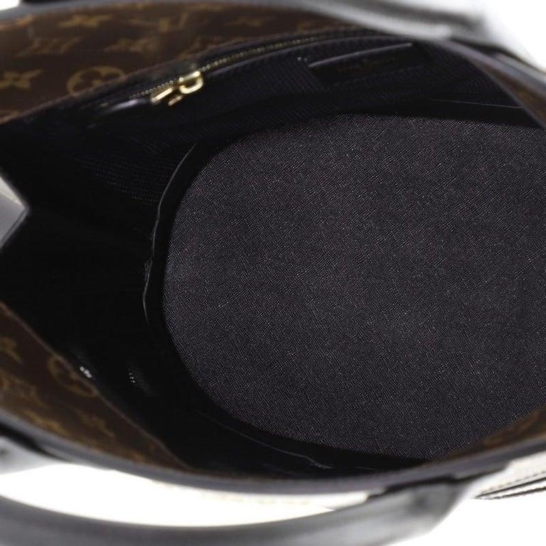 Louis Vuitton Tressage Tote Monogram MM For Sale 1
