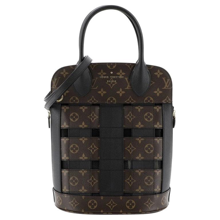 Louis Vuitton Tressage Tote Monogram MM For Sale