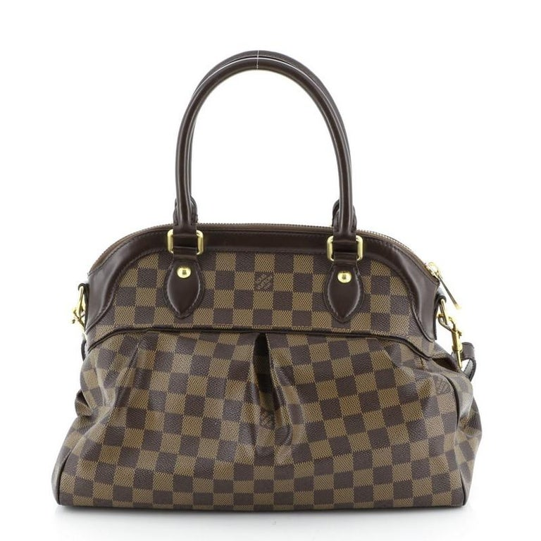 Louis Vuitton Trevi Handbag Damier PM In Good Condition For Sale In New York, NY