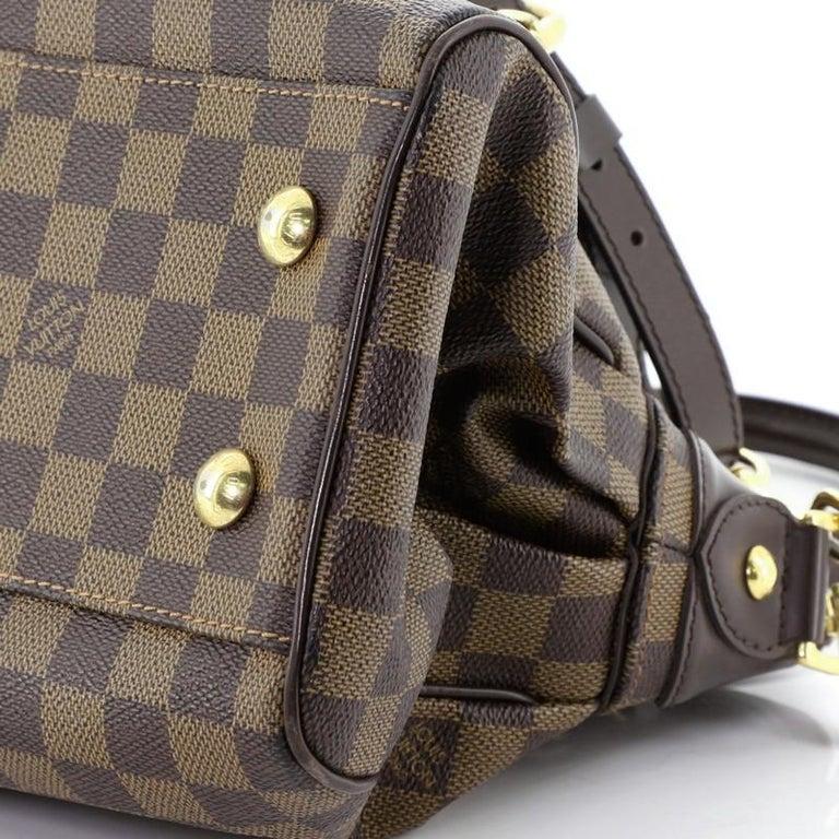 Louis Vuitton Trevi Handbag Damier PM For Sale 2
