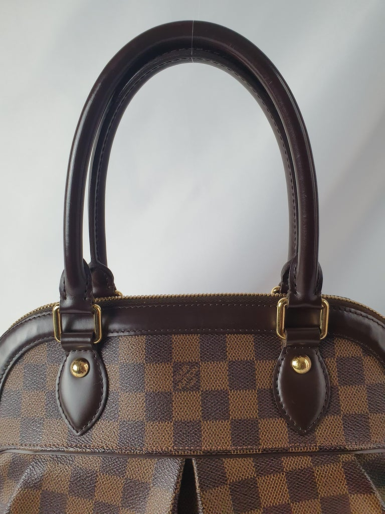 Louis Vuitton, Trevi in brown canvas For Sale 5