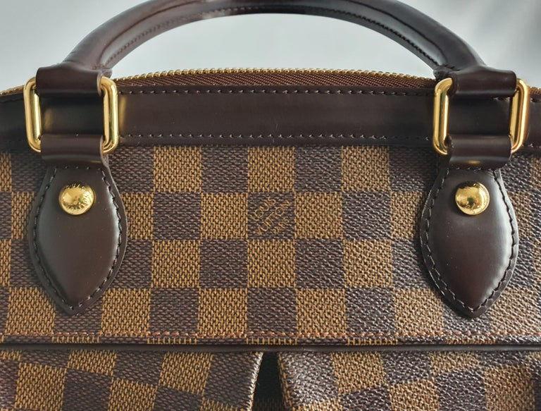 Louis Vuitton, Trevi in brown canvas For Sale 6