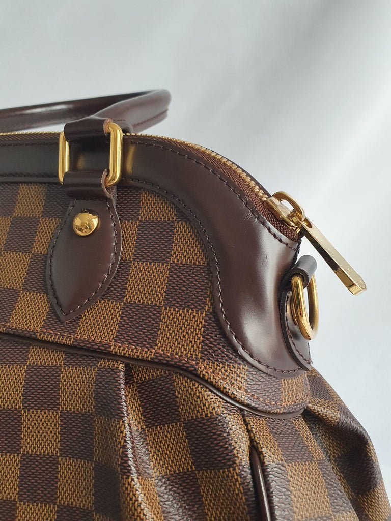 Louis Vuitton, Trevi in brown canvas For Sale 7