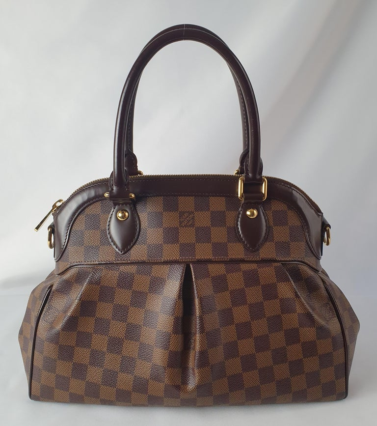Black Louis Vuitton, Trevi in brown canvas For Sale