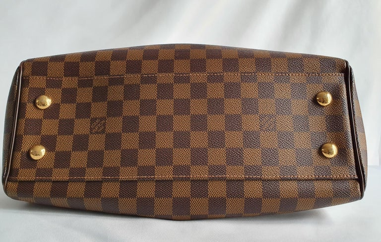 Louis Vuitton, Trevi in brown canvas In Good Condition For Sale In Clichy, FR