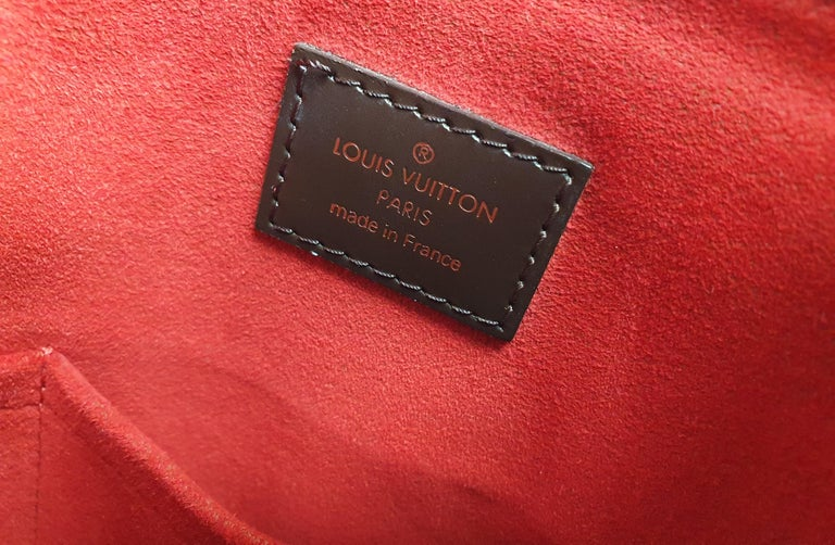 Louis Vuitton, Trevi in brown canvas For Sale 1