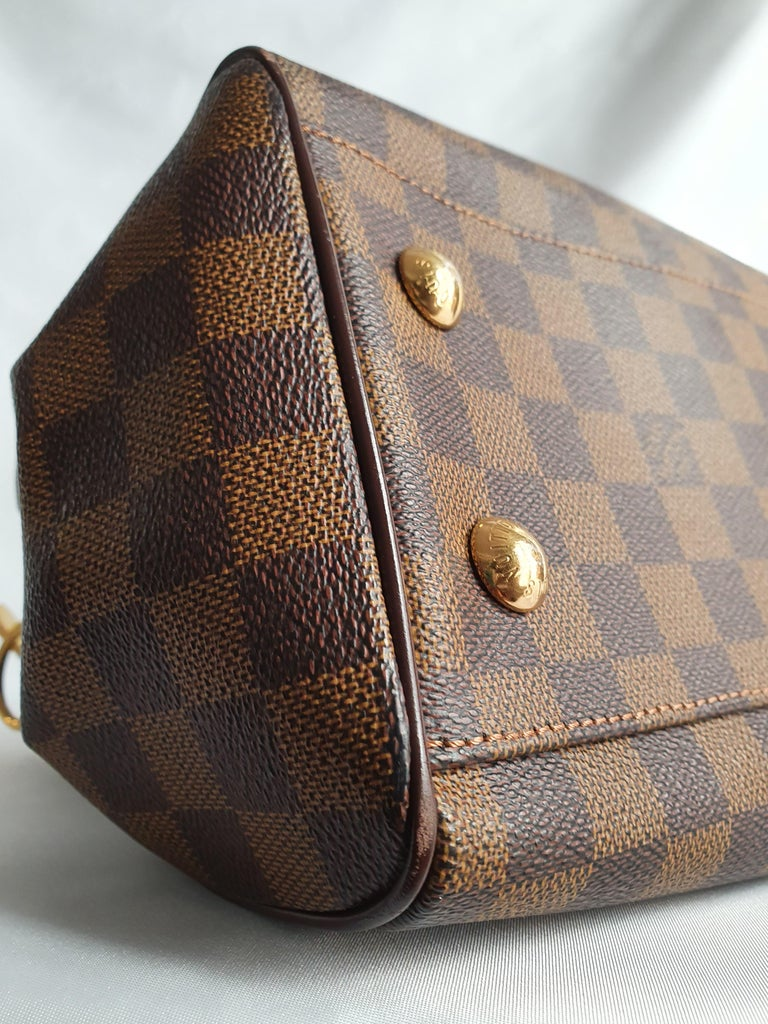 Louis Vuitton, Trevi in brown canvas For Sale 3