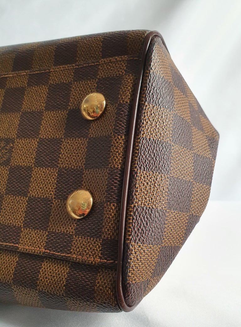 Louis Vuitton, Trevi in brown canvas For Sale 4