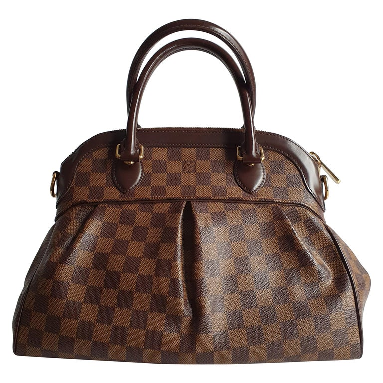 Louis Vuitton, Trevi in brown canvas For Sale