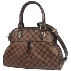 LOUIS VUITTON Trevi PM Womens handbag N51997 Damier ebene