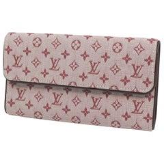 LOUIS VUITTON Tri-fold wallet poruto Tresor International Womens long wallet M92