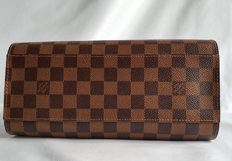 Louis Vuitton, Triana in brown canvas In Good Condition For Sale In Clichy, FR