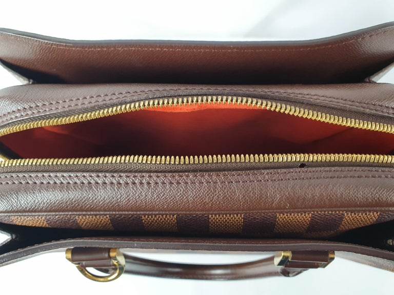 Women's Louis Vuitton, Triana in brown canvas For Sale