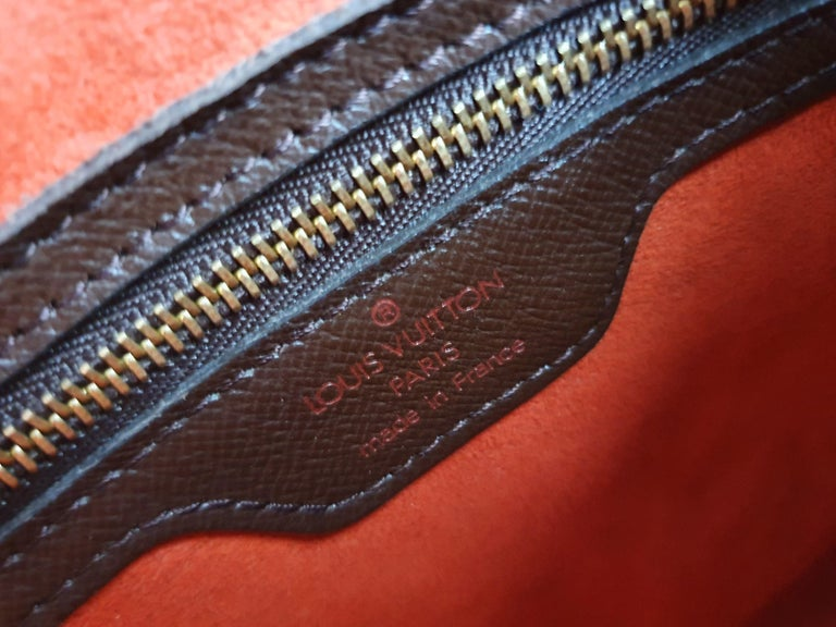 Louis Vuitton, Triana in brown canvas For Sale 1