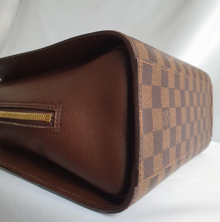 Louis Vuitton, Triana in brown canvas For Sale 3