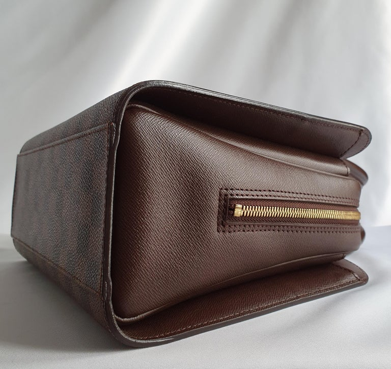 Louis Vuitton, Triana in brown canvas For Sale 4