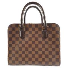 Louis Vuitton, Triana in brown canvas