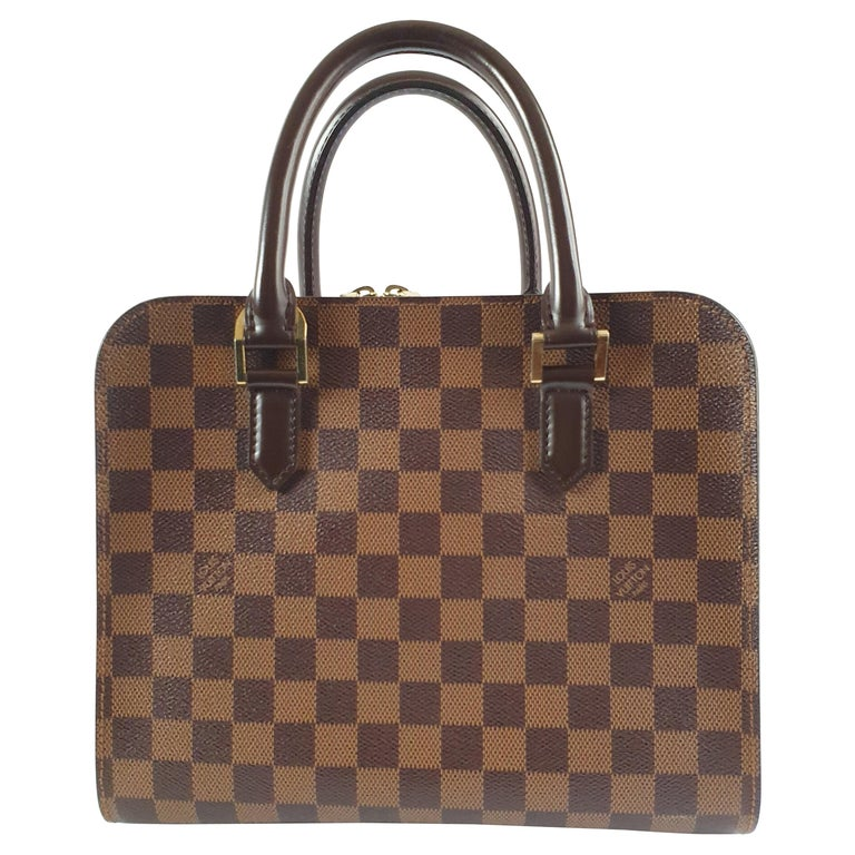 Louis Vuitton, Triana in brown canvas For Sale