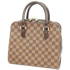 LOUIS VUITTON Triana Womens handbag N51155 Damier ebene