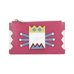 Louis Vuitton Tribal Mask Key Pouch Epi Leather
