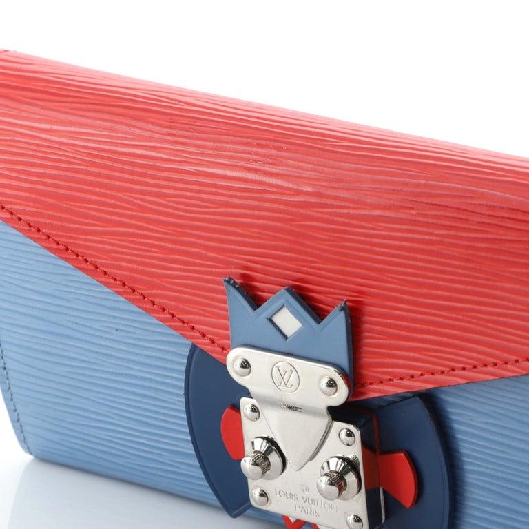 Louis Vuitton Tribal Mask Sarah Wallet Epi Leather For Sale 1