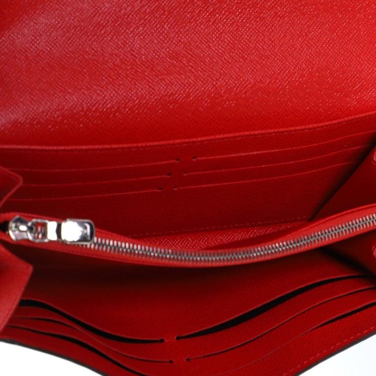 Louis Vuitton Tribal Mask Sarah Wallet Epi Leather For Sale 2
