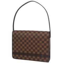 LOUIS VUITTON Tribeca Longue Womens shoulder bag N51160 Damier ebene