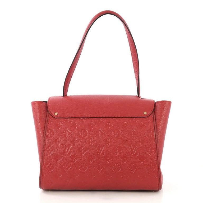 Louis Vuitton Trocadero Handbag Monogram Empreinte Leather, In Good Condition For Sale In New York, NY