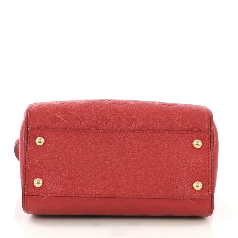 Women's Louis Vuitton Trocadero Handbag Monogram Empreinte Leather, For Sale