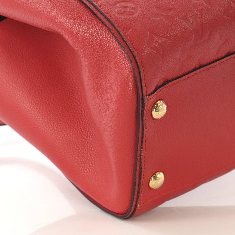 Louis Vuitton Trocadero Handbag Monogram Empreinte Leather, For Sale 1